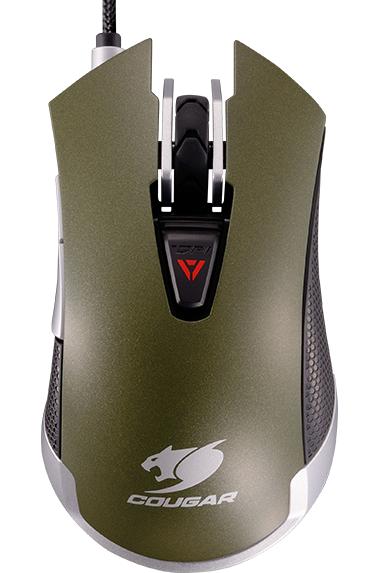 Мышь Cougar 530M проводная оптическая игровая для PC (хаки)Игровая мышка Cougar 530M станет отличным выбором для желающих получить не только мощное, но и стильное игровое оружие. Мышь Cougar 530M создана для достижения максимального контроля над игровым процессом и реализации всех возможностей игрока.<br>