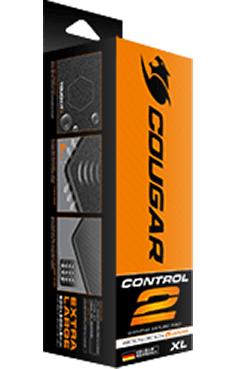 Коврик для мыши Cougar Control II для PC (XL)Игровой ковер Cougar Control II имеет износостойкий край со стильной прострочкой для более долгого срока службы и водонепроницаемую текстурную поверхность, идеальную для максимальной точности как при использовании лазерных так и оптических мышей.<br>