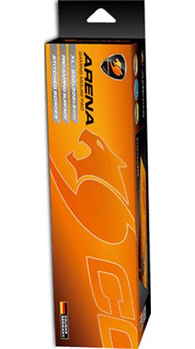 Коврик для мыши Cougar Arena для PCИгровой ковер со сбалансированным скольжением Cougar Arena имеет износостойкий край со стильной прострочкой, размер XL и стильный яркий дизайн. Подходит для лазерных и оптических мышей.<br>