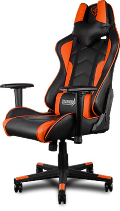 Геймерское кресло ThunderX3 TGC22-BOСозданное для игры и работы кресло ThunderX3 TGC22-BO &amp;ndash; это уникальный дизайн, абсолютный комфорт в течение всего дня, черная мягкая надежная экокожа и металлическая рама.<br>