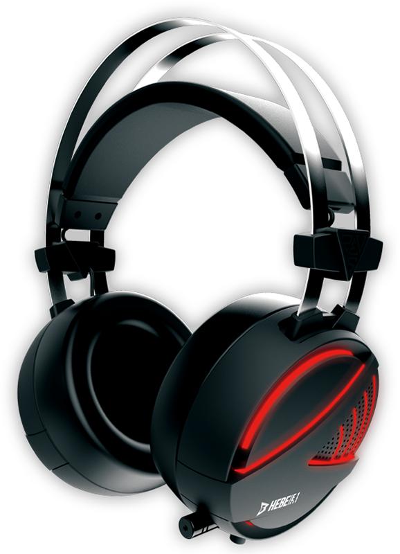 Гарнитура Gamdias Hebe E1 RGB проводная игровая для PCСтереогарнитура Gamdias Hebe E1 RGB с мощными 40-миллиметровыми динамиками, удобным управлением громкостью и возможность включения/отключения микрофона во время игры.<br>