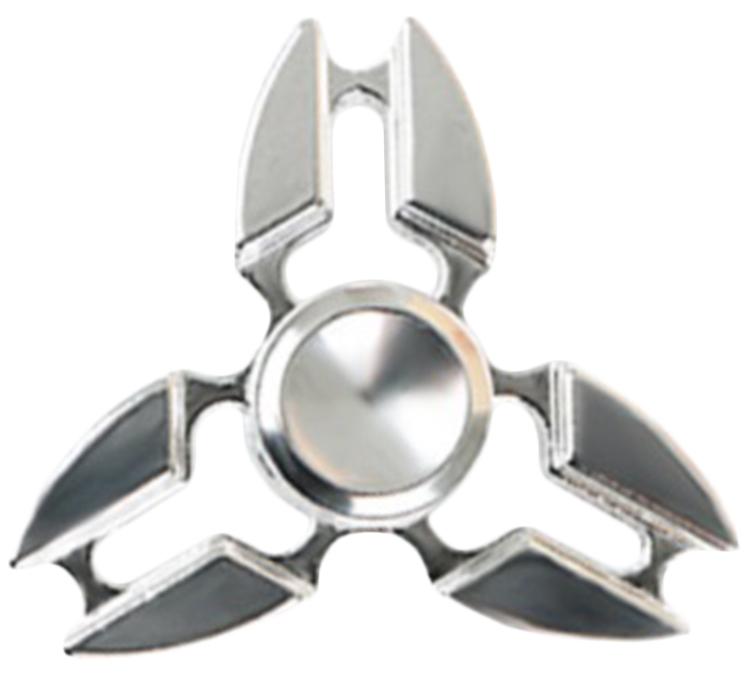 Спиннер металлический: СеребряныйМеталлический спиннер серебряного цвета от Spin Kings – это классная игрушка, которую просто крутят в руках. Функционал ее весьма небольшой, но удовольствие которое она дает – безгранично. Ее можно крутить в руке, крутить в кармане, в метро, в пробке, в очереди…<br>