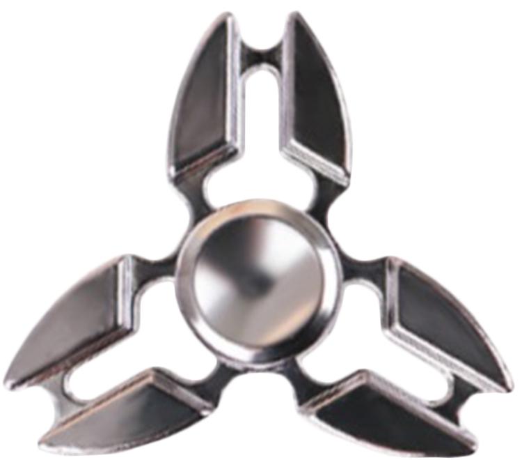 Спиннер металлический: СерыйМеталлический спиннер серого цвета от Spin Kings – это классная игрушка, которую просто крутят в руках. Функционал ее весьма небольшой, но удовольствие которое она дает – безгранично. Ее можно крутить в руке, крутить в кармане, в метро, в пробке, в очереди…<br>