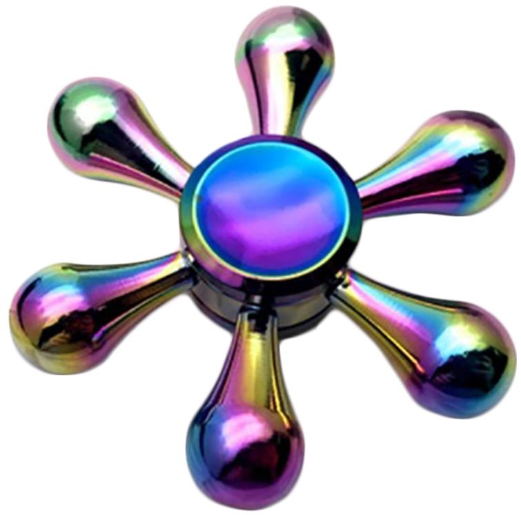 Спиннер металлический шестиконечный (перламутровый )Металлический шестиконечный спиннер перламутрового цвета от Spin Kings – это классная игрушка, которую просто крутят в руках. Функционал ее весьма небольшой, но удовольствие которое она дает – безгранично. Ее можно крутить в руке, крутить в кармане, в метро, в пробке, в очереди…<br>
