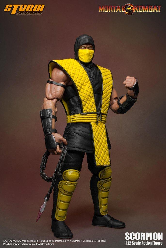 Коллекционная фигурка Mortal Kombat: Scorpion (17 см)