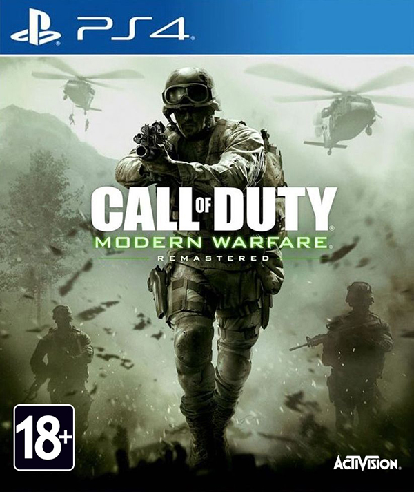 Call of Duty: Modern Warfare Remastered [PS4] худи print bar modern warfare