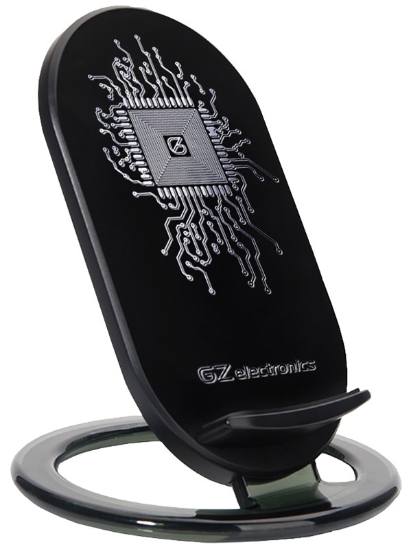 Беспроводное зарядное устройство GZ-WCH11 (черный)Беспроводное зарядное устройство GZ Electronics GZ-WCH11 совместимо со всеми мобильными телефонами, поддерживающими стандарт QI.<br>