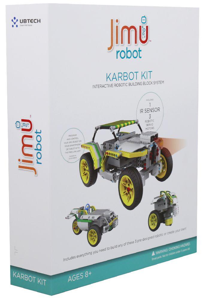 Робот-конструктор Jimu KarbotРобот-конструктор Jimu Karbot позволяет ребенку или подростку создавать и программировать собственных роботов.<br>