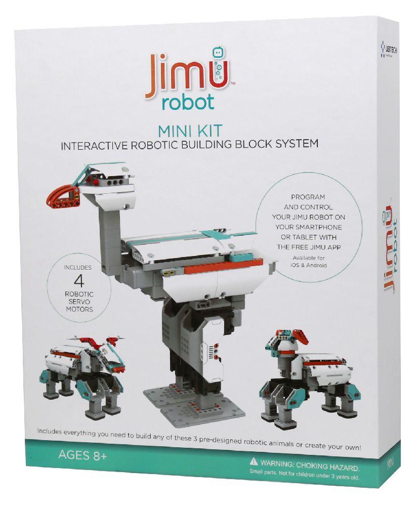 Робот-конструктор Jimu MiniРобот-конструктор Jimu Mini позволяет ребенку или подростку создавать и программировать собственных роботов.<br>