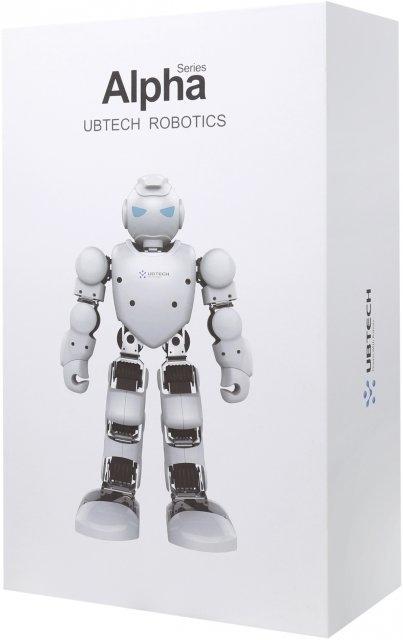 Робот-конструктор Alpha 1ProЧеловекоподобный робот Alpha 1Pro состоит из 16 сервомоторов, которые плавно управляют его конечностями. Такая конструкция позволяет Ubtech Alpha 1 Pro двигаться подобно человеку.<br>