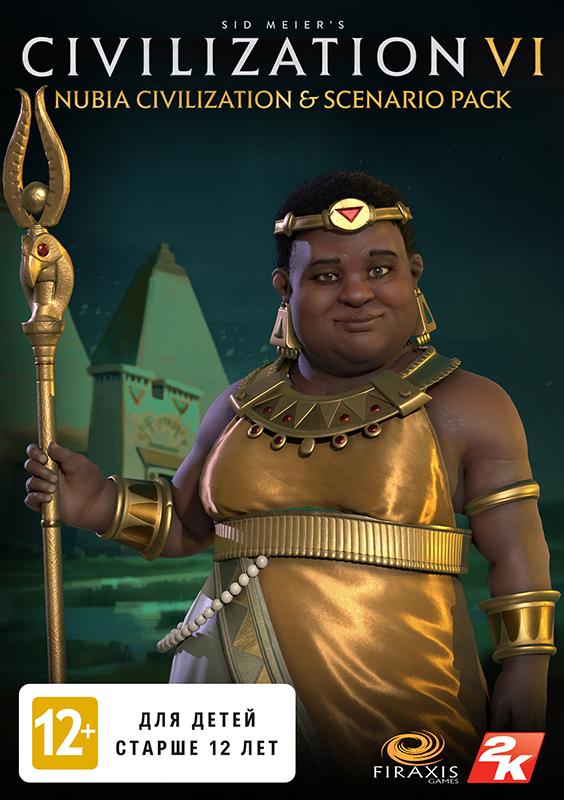 Фото Sid Meier's Civilization VI. Nubia Civilization & Scenario Pack. Дополнение [PC, Цифровая версия] (Цифровая версия) sid meier s civilization and scenario pack korea дополнение [pc цифровая версия] цифровая версия
