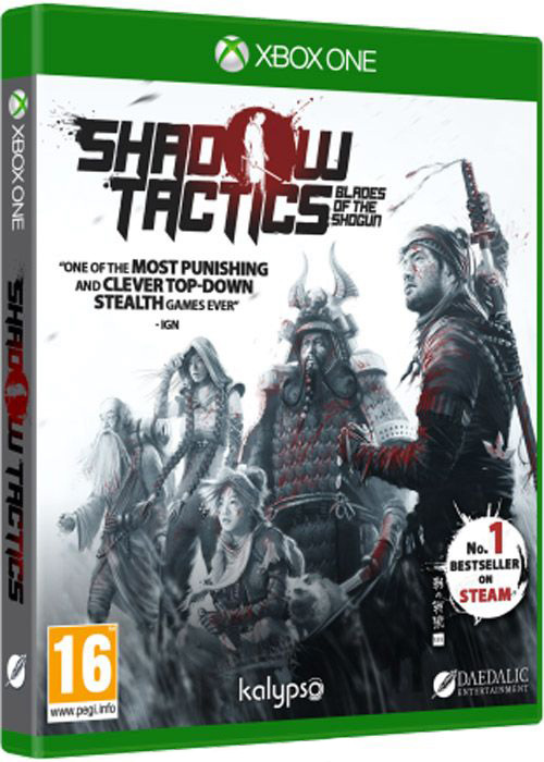 Shadow Tactics: Blades of the Shogun [Xbox One] shadow of the flame