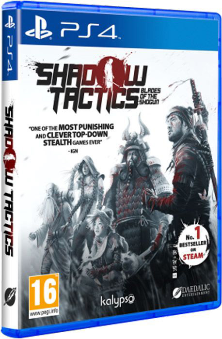Shadow Tactics: Blades of the Shogun [PS4] shadow of the flame