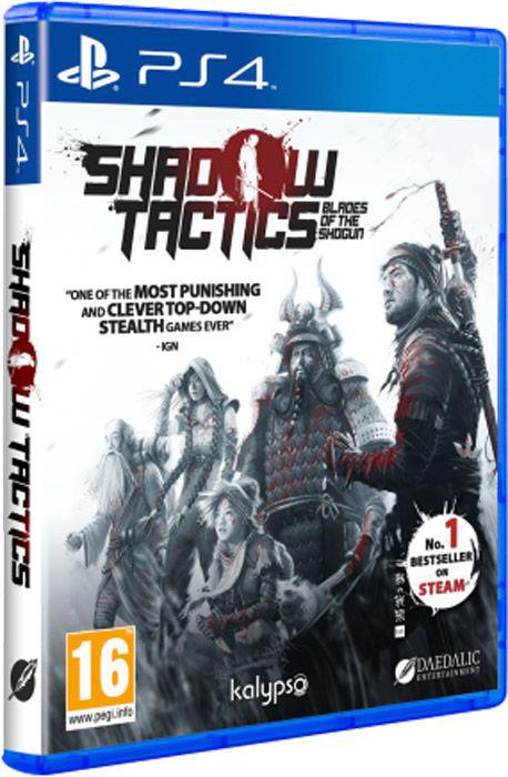 Shadow Tactics: Blades of the Shogun [PS4]Shadow Tactics – сложная тактическая игра с элементами стелс-экшена, действие которой происходит в Японии времен периода Эдо.<br>
