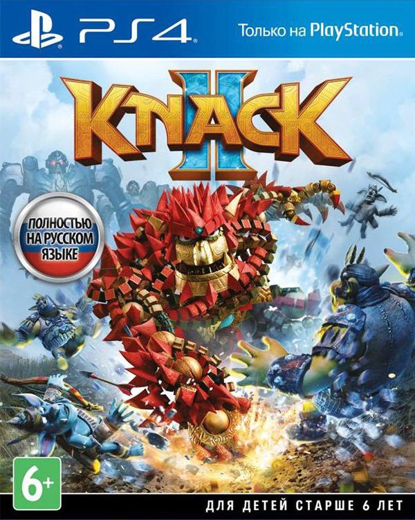 Knack 2 [PS4]Knack 2 – продолжение приключенческого экшен-платформера!<br>