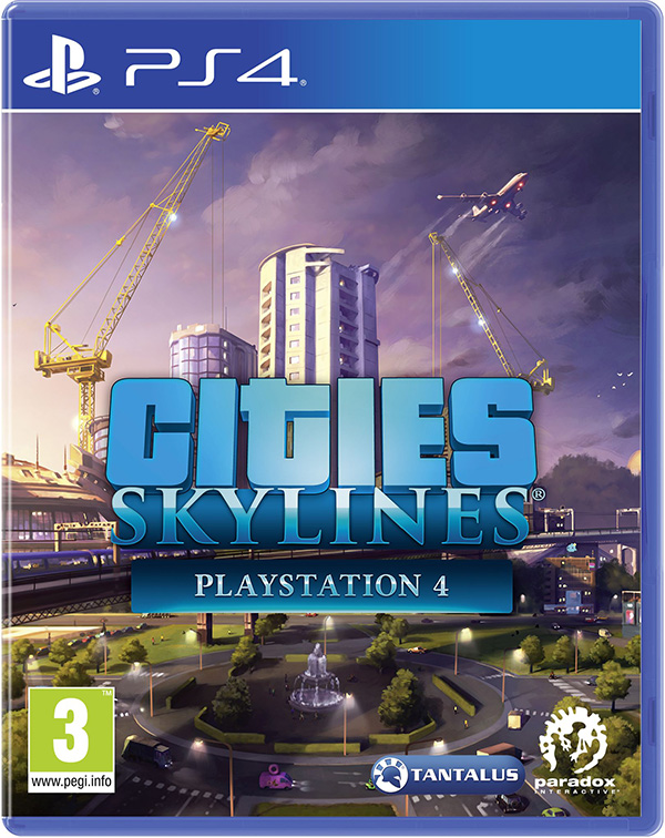 Cities: Skylines [PS4] сандалии biki сандалии