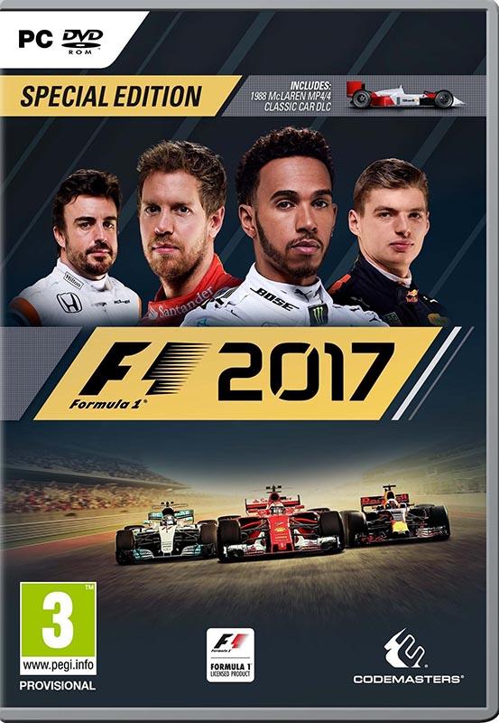 F1 2017. Особое издание [PC]F1 2017 –  это наиболее полная версия симулятора одного из самых зрелищных и опасных видов автоспорта – гонок на болидах F1.<br>
