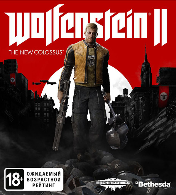 Wolfenstein II: The New Colossus (код загрузки) [PC–Jewel] wolfenstein ii the new colossus digital deluxe edition [pc цифровая версия] цифровая версия