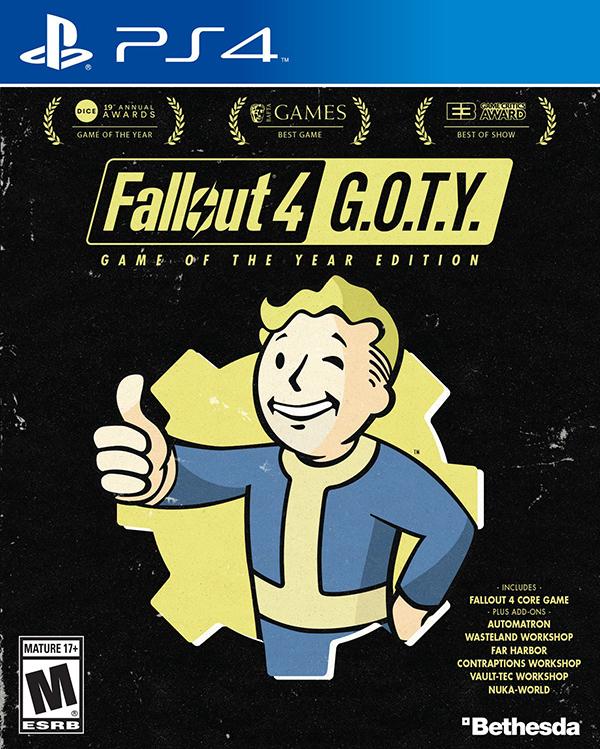Fallout 4. Game of the Year Edition [PS4]Новый выпуск постапокалиптической ролевой серии от создателей Fallout 3 и The Elder Scrolls V: Skyrim.<br>