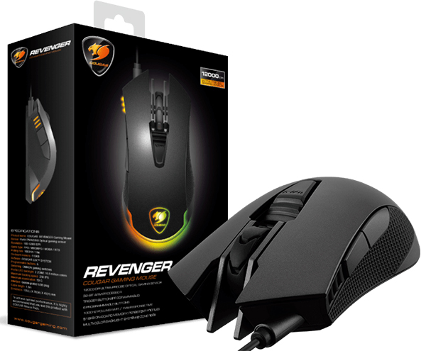 Мышь Cougar Revenger для PCМышка Cougar Revenger создана для профессиональных геймеров, которые ценят безупречную функциональность.<br>