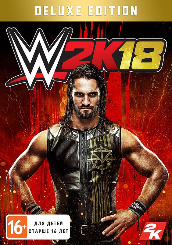WWE 2K18. Digital Deluxe Edition (Цифровая версия)Встречайте WWE 2K18! Крупнейшая серия игр о мире профессионального рестлинга возвращается. Обложку игры украшает суперзвезда Seth Rollins. В WWE 2K18 вас ждёт сумасшедшая динамика, великолепная графика, драматичные события, азартные бои, новые игровые режимы и типы матчей, широкие возможности для создания собственных персонажей и всё то, за что вы любите игры серии WWE 2K!<br>