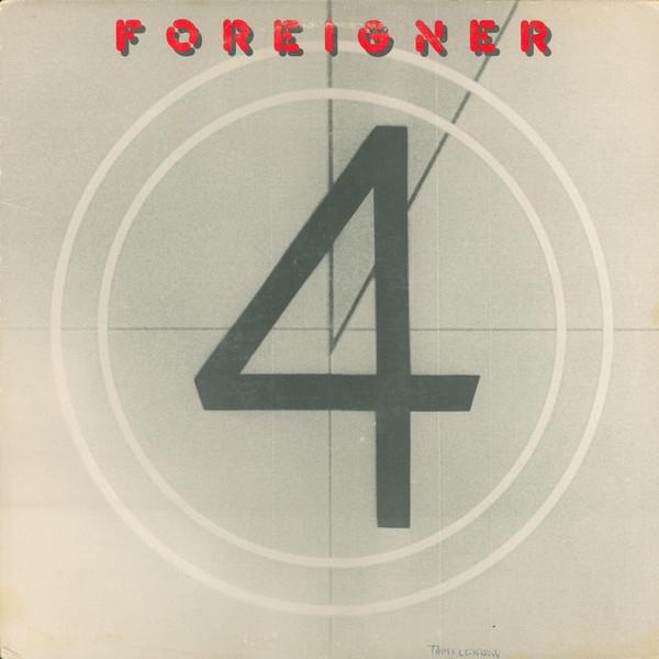 Foreigner – 4 (LP) phil collins singles 4 lp