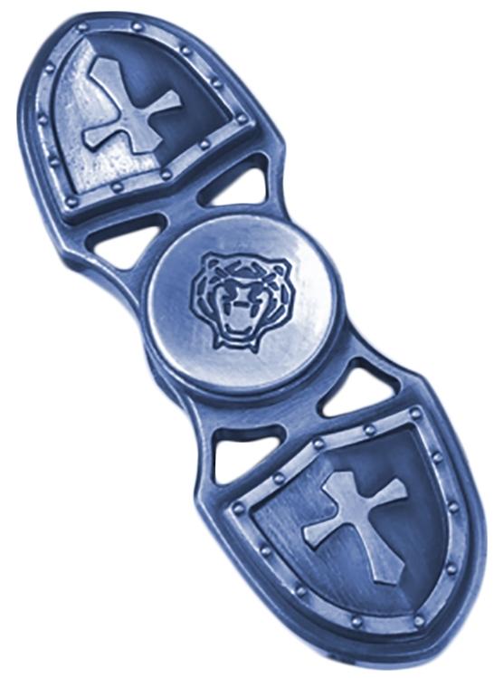 Спиннер металлический двухконечный (синий)Металлический спиннер синего цвета от Spin Kings – это классная игрушка, которую просто крутят в руках. Функционал ее весьма небольшой, но удовольствие которое она дает – безгранично. Ее можно крутить в руке, крутить в кармане, в метро, в пробке, в очереди…<br>