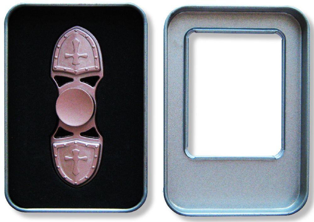 Спиннер металлический двухконечный (розовый) спиннер металлический двухконечный розовый