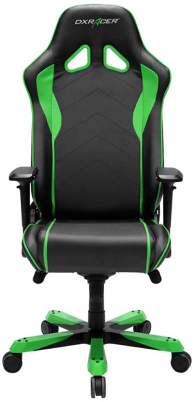 Геймерское кресло DXRacer Sentinel OH/SJ08/NE (Black/Green)Игровые кресла DXRacer серии Sentinel рассчитаны на пользователей с весом до 158 килограмм и большим ростом (свыше 195 сантиметров). Конструкция обладает увеличенной по высоте спинкой и мощной крестовиной, которая для лёгкости изготовлена из алюминия. Действительно мощное кресло для крепких мужчин!<br>