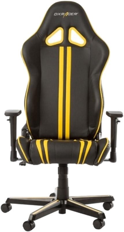 Геймерское кресло DXRacer Racing OH/RZ9/NY (Black/Yellow)Кресла серии Racing series &amp;ndash; настоящий бестселлер на рынке игровых/офисных кресел. Разработанные изначально для геймеров и киберспортсменов, они быстро завоевали популярность у каждого, кому приходится длительное время проводить за компьютерным столом. Традиционный черный стиль изделия позволит вписать его в любой офисный или домашний интерьер. В основании кресел &amp;#8722; трубчатая стальная рама и металлическая база, что обеспечивает длительность эксплуатации.<br>