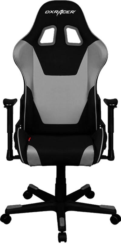 Геймерское кресло DXRacer Formula OH/FD101/NG (Black/Grey)Современное эргономичное офисное геймерское кресло DXRacer Formula OH/FD101/NG серии Formula с высокой спинкой стилизовано под автомобильное. Стальной каркас внутри компьютерного кресла делает его прочным и долговечным. В качестве наполнителя используется высокой плотности губчатая пена, используемая в автомобилестроении, устойчивая к деформации. У кресла высокая спинка в стиле рекаро с боковой поддержкой спины и поясницы.<br>