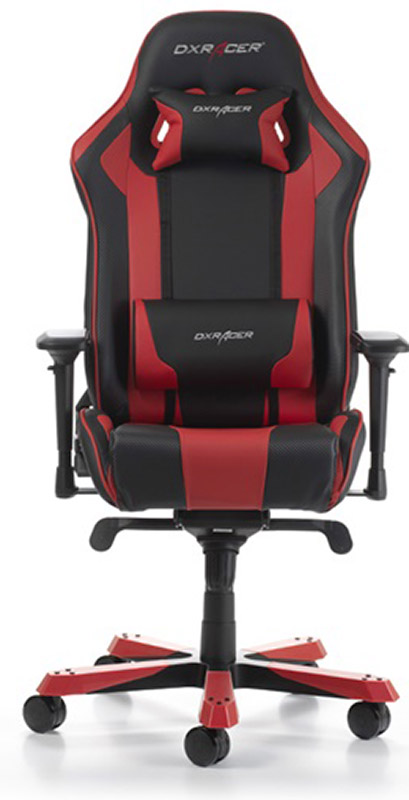 Геймерское кресло DXRacer King OH/KS06/NR (Black/Red)