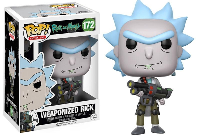 Фигурка Funko POP Animation Rick & Morty: Weaponized Rick (9,5 см) фигурка funko pop animation one piece portgas d ace 9 5 см