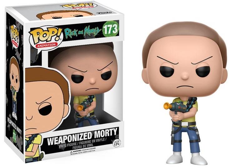 Фигурка Funko POP Animation Rick &amp; Morty: Weaponized Morty (9,5 см)Фигурка Funko POP Animation Rick &amp;amp; Morty: Weaponized Morty воплощает собой Морти с оружием из анимационного шоу для взрослых «Рик и Морти».<br>