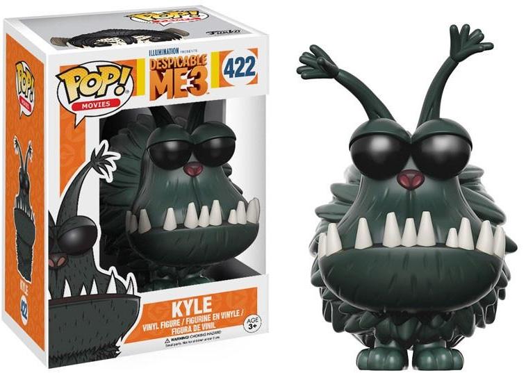Фигурка Funko POP Movies Despicable Me 3: Kyle (9,5 см)Фигурка Funko POP Movies Despicable Me 3: Kyle воплощает собой Кайла, маленькую злую собаку Грю из мультфильма Гадкий я 3.<br>