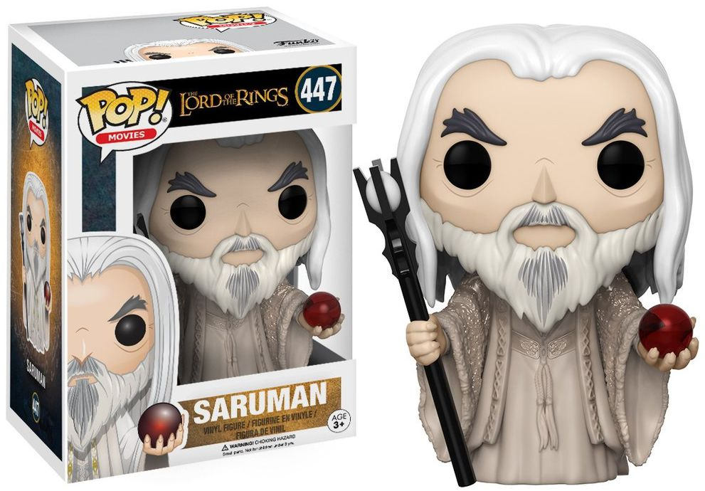 Фигурка Funko POP Movies The Lord of the Rings: Saruman (9,5 см) гобелен 180х145 printio the lord of the rings lotr властелин колец