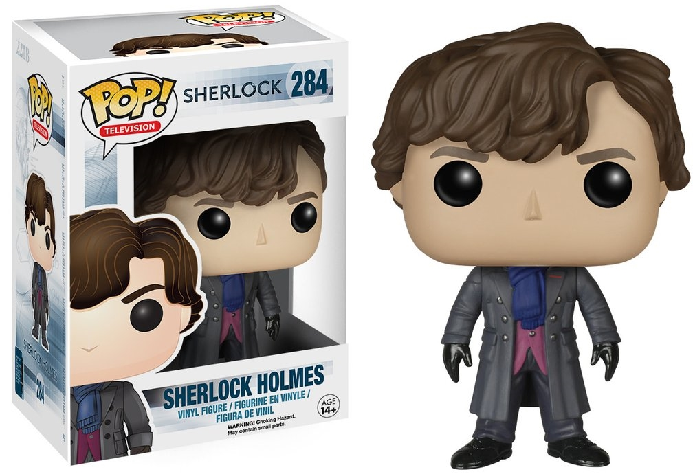 Фигурка Funko POP Television Sherlock: Sherlock Holmes (9,5 см)Фигурка Funko POP Television Sherlock: Sherlock Holmes воплощает собой Шерлока Холмса из сериала «Шерлок». Сериал представляет собой современную историю приключений Шерлока Холмса.<br>
