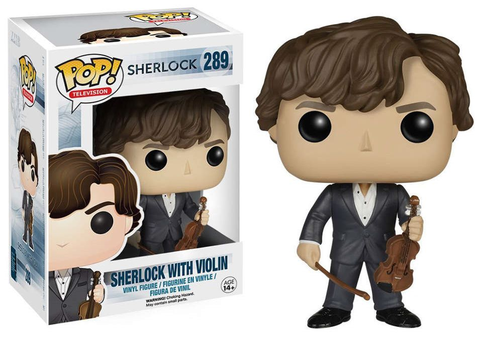 Фигурка Funko POP Television Sherlock: Sherlock Holmes With Violin (9,5 см) dayle a c the adventures of sherlock holmes рассказы на английском языке
