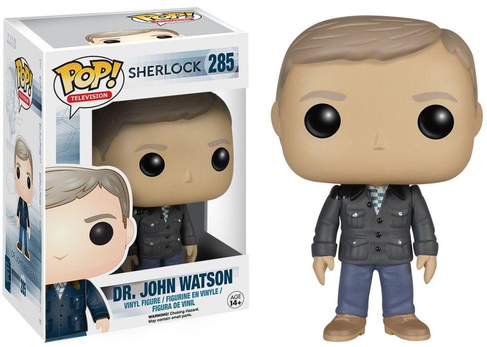 Фигурка Funko POP Television Sherlock: Dr. John Watson (9,5 см)Фигурка Funko POP Television Sherlock: Dr. John Watson воплощает собой Джона Ватсона из сериала «Шерлок». Британский сериал, основанный на произведениях Артура Конана Дойля.<br>