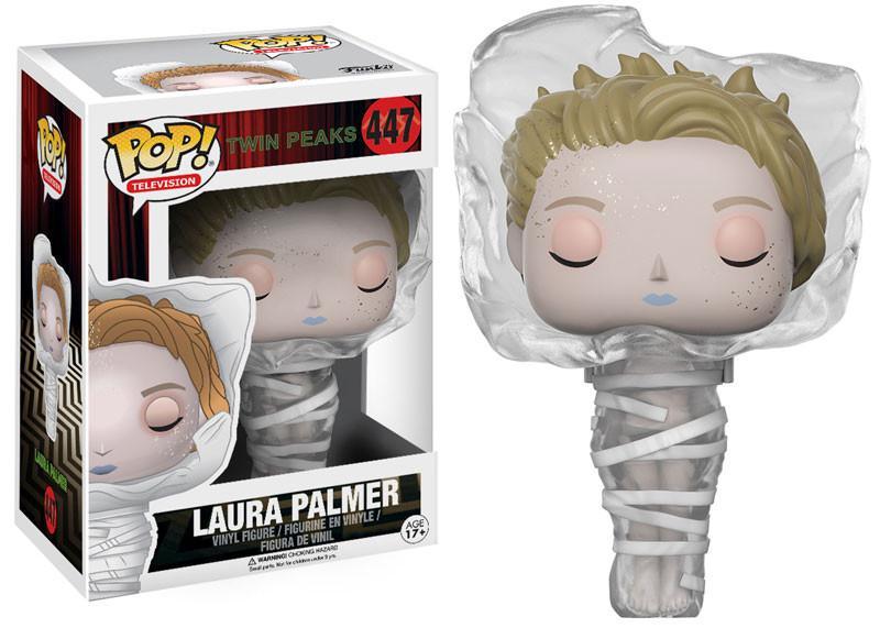 Фигурка Funko POP Television Twin Peaks: Laura in Plastic Wrap (9,5 см) iclebo pop
