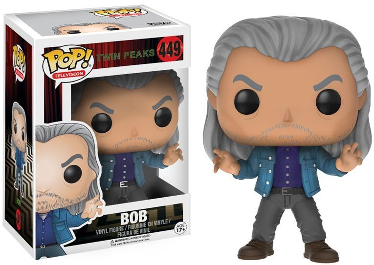 Фигурка Funko POP Television Twin Peaks: Bob (9,5 см)Фигурка Funko POP Television Twin Peaks: Bob воплощает собой Боба, нематериальное зло из сериала «Твин Пикс».<br>