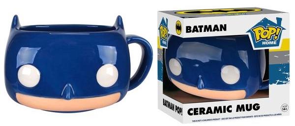 Кружка керамическая Funko POP Batman Mug (350 мл)Бэтмен гарантирует, что в кружке Funko POP Batman Mug ваши напитки будут теплыми и безопасными! Будь то утренний кофе или немного супа, дизайн кружки предаст вашему напитку незабываемый вкус!<br>