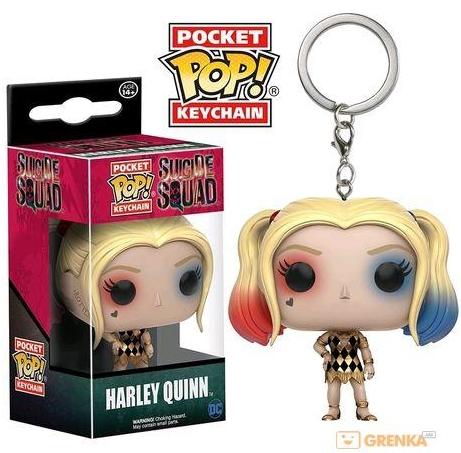 Брелок Funko Pocket POP Suicide Squad: Harley Quinn Gown Exclusive (3,8 см)Белок Funko Pocket POP Suicide Squad: Harley Quinn Gown Exclusive выполнен в виде суперзлодейки Харли Квинн из фильма «Отряд самоубийц».<br>