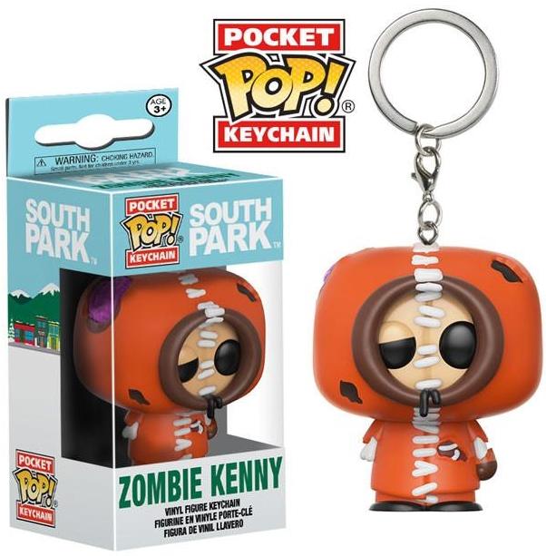 Брелок Pocket POP South Park: Zombie Kenny (3,8 см)Белок Pocket POP South Park: Zombie Kenny воплощает собой Кенни, героя американского мультсериала «Южный парк», в образе зомби.<br>
