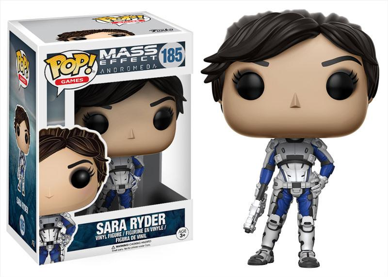 Фигурка Funko POP Games: Mass Effect Andromeda – Sara Ryder (9,5 см) funko pop vinyl фигурка mass effect andromeda jaal