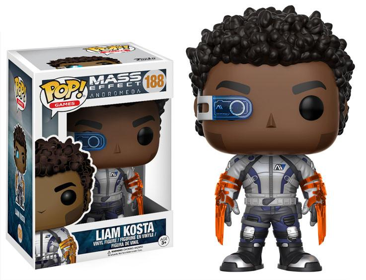 Фигурка Funko POP Games: Mass Effect Andromeda – Liam Kosta (9,5 см) funko pop vinyl фигурка mass effect andromeda jaal