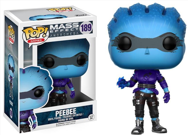 Фигурка Funko POP Games Mass Effect Andromeda: Peebee (9,5 см)Фигурка Funko POP Games Mass Effect Andromeda: Peebee воплощает собой азари Пиби из ролевой космической игры «Mass Effect Andromeda».<br>