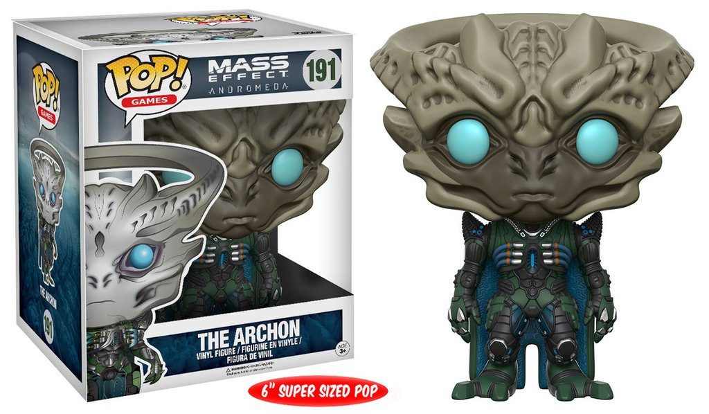 Фигурка Funko POP Games: Mass Effect Andromeda – The Archon (15,24 см) funko pop vinyl фигурка mass effect andromeda jaal