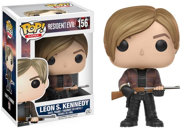 Фигурка Funko POP Games Resident Evil: Leon S. Kennedy (9,5 см) 1 6 scale resident evil 6 leon scott kennedy full set action figure for collections