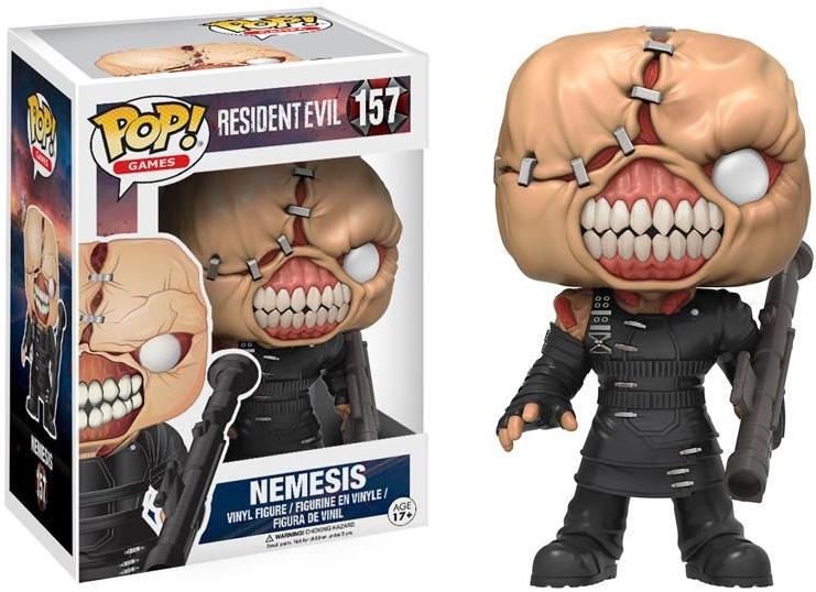 Фигурка Funko POP Games Resident Evil: Nemesis (9,5 см)Фигурка Funko POP Games Resident Evil: Nemesis воплощает собой Немезиса из культовой игры Resident Evil 3.<br>